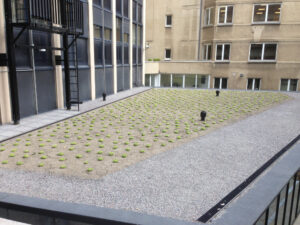Katusetööd bituumenrullmaterjaliga ja vedelplast katuse läbiviigud Brüsselis