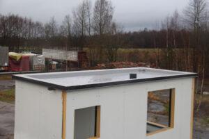 Konteineri katuse vedelplast